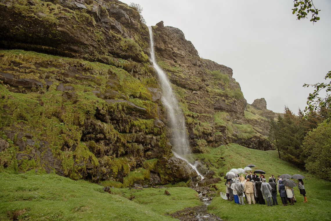 Adventurous Rainy Wedding In Iceland (With Waterfalls!) | Your Adventure Wedding 25