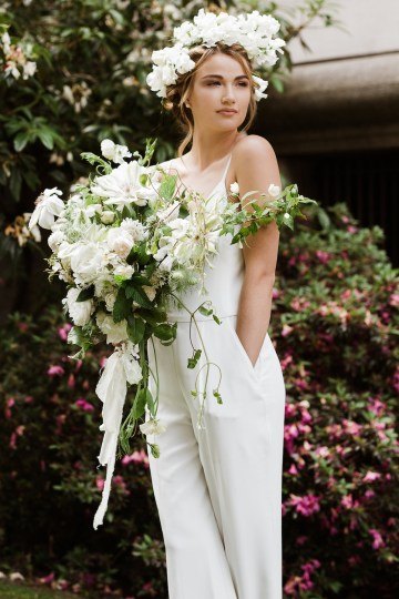 Cool Courthouse Wedding Inspiration Featuring A Bridal Jumpsuit | Rachel Birkhofer Photography 20