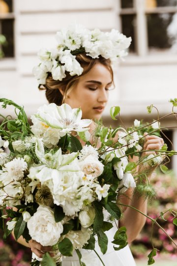 Cool Courthouse Wedding Inspiration Featuring A Bridal Jumpsuit | Rachel Birkhofer Photography 21