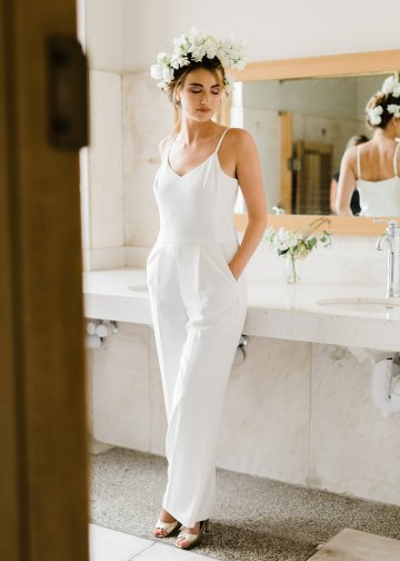 Cool Courthouse Wedding Inspiration Featuring A Bridal Jumpsuit | Rachel Birkhofer Photography 8