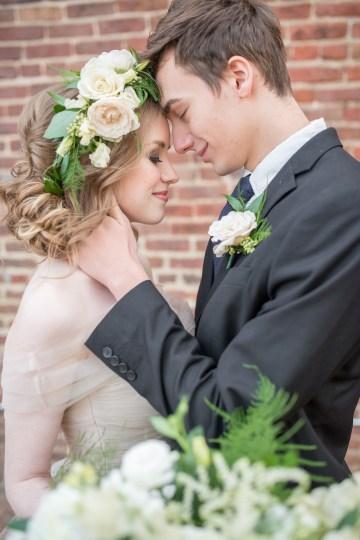 Gorgeous Buttercream & Ivory Wedding Inspiration | Anna + Mateo 1