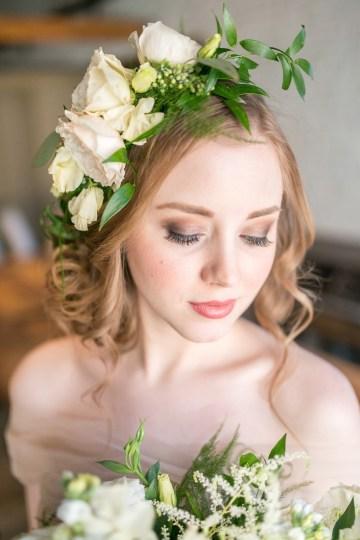 Gorgeous Buttercream & Ivory Wedding Inspiration | Anna + Mateo 21
