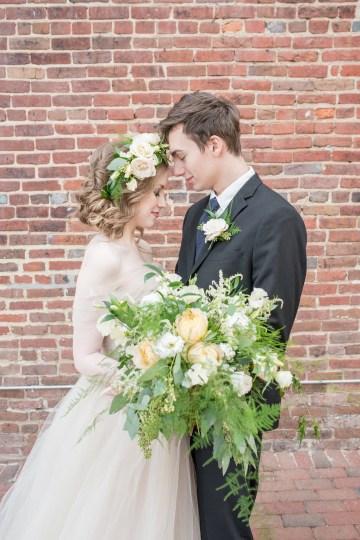 Gorgeous Buttercream & Ivory Wedding Inspiration | Anna + Mateo 32