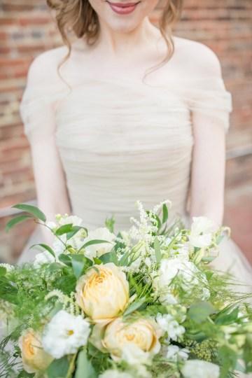 Gorgeous Buttercream & Ivory Wedding Inspiration | Anna + Mateo 7