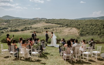 Intimate, Eucalyptus Filled, Destination Wedding in Italy