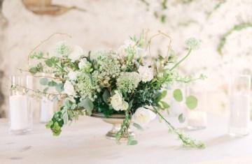 Luxurious Green & Gold Wedding Inspiration | Saje Photography 53