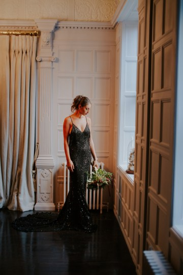 Luxurious Red & Green Wedding Inspiration Featuring A Glam Black Gown | Jamie Sia Photography 47