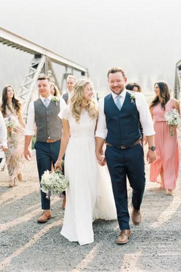 Rustic Montana Ranch Wedding | Emily Blumberg Photography 40