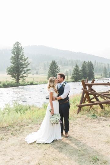 Rustic Montana Ranch Wedding | Emily Blumberg Photography 46