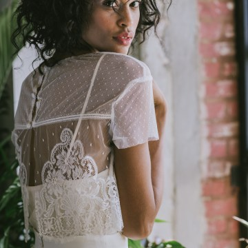 Boho Gowns & Cool Bridal Separates From The Tropical Town of Brooklyn   Loulette Bride 25