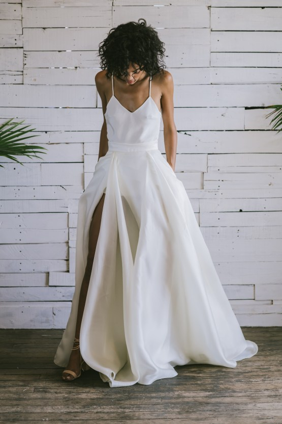 Boho Gowns & Cool Bridal Separates From The Tropical Town of Brooklyn   Loulette Bride 26