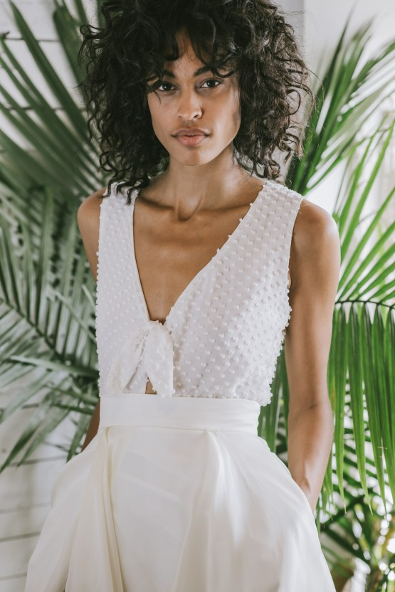Boho Gowns & Cool Bridal Separates From The Tropical Town of Brooklyn   Loulette Bride 41