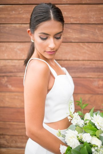 Classy Modern Rooftop Wedding Inspiration | Anna + Mateo Photography 49