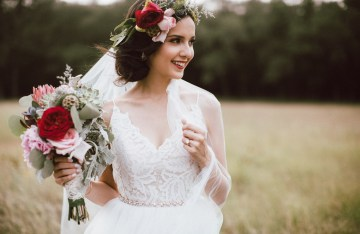 Colorful, Natural Boho Wedding (With Donuts!) | Morgan Brooks Photography 14