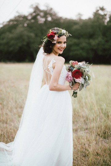 Colorful, Natural Boho Wedding (With Donuts!) | Morgan Brooks Photography 29