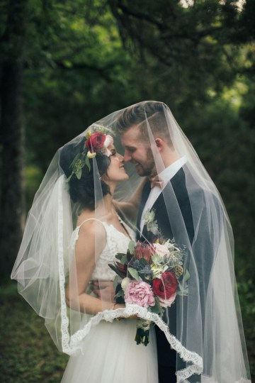 Colorful, Natural Boho Wedding (With Donuts!) | Morgan Brooks Photography 40
