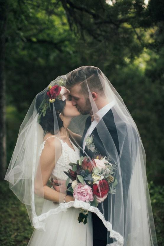 Colorful, Natural Boho Wedding (With Donuts!) | Morgan Brooks Photography 41