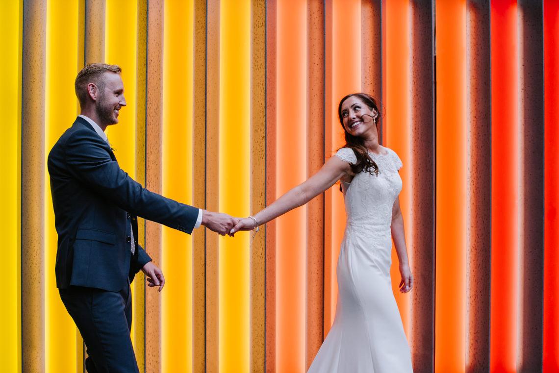 Cool, Modern London Wedding | Oliver McGivern Photography 16