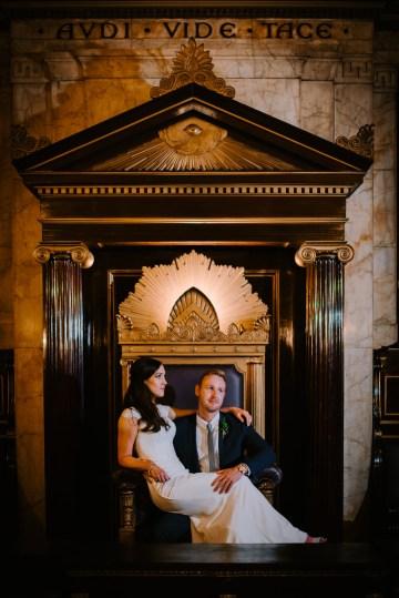 Cool, Modern London Wedding   Oliver McGivern Photography 34