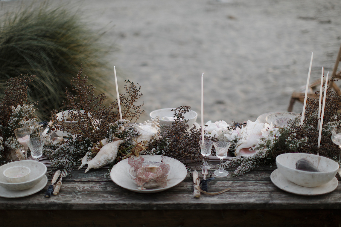 Driftwood & Seagrass, Seaside Boho Wedding Inspiration | Monica Leggio 1