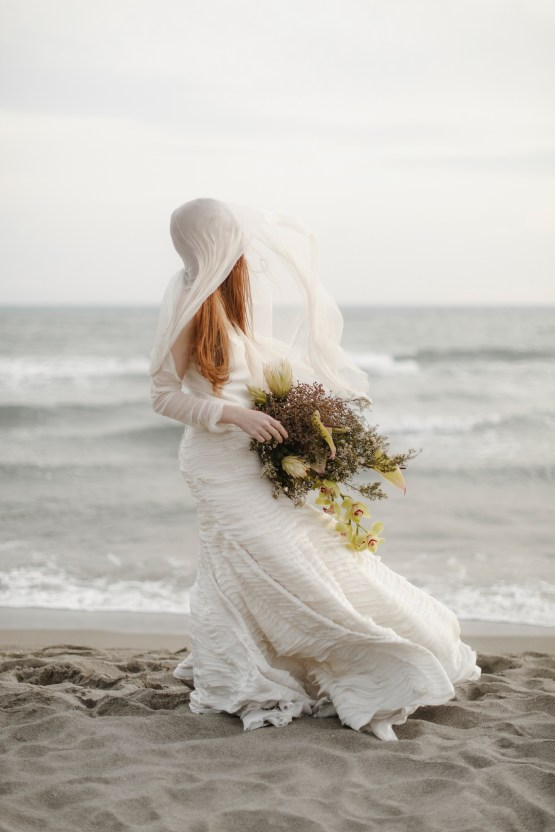 Driftwood & Seagrass, Seaside Boho Wedding Inspiration | Monica Leggio 32