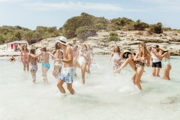 Epic Fashion Filled Wedding Weekend in Corsica | Magdalena Studios 66