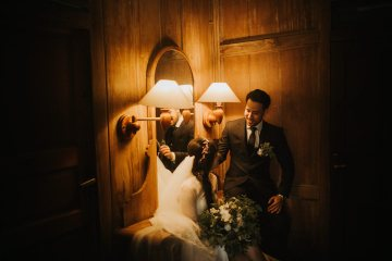 Modern & Hip Bali Wedding Featuring Sparklers & Flower Crowns | Iluminen Photography 13