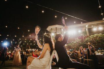 Modern & Hip Bali Wedding Featuring Sparklers & Flower Crowns | Iluminen Photography 24