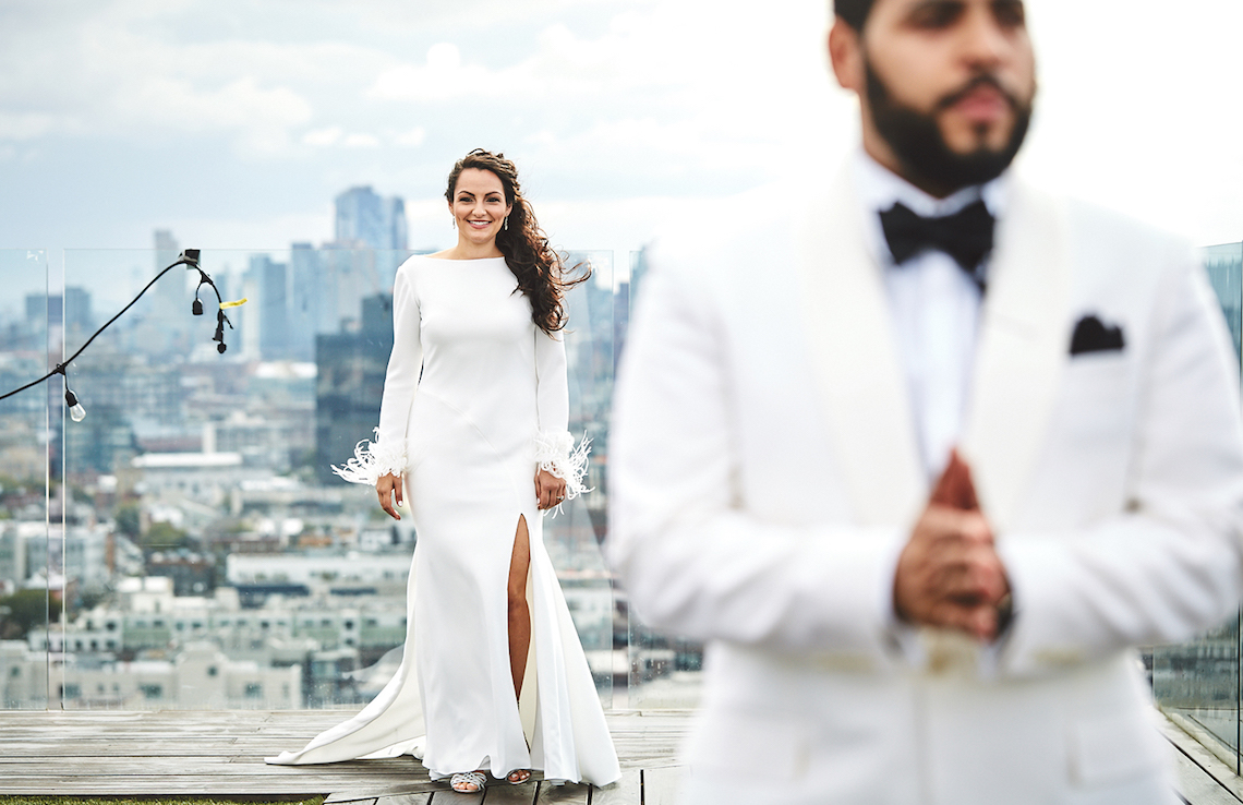 Stylish New York Wedding With Incredible City Views | Bri Johnson Photography 13