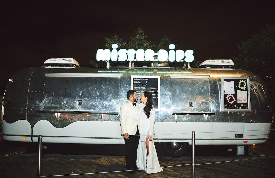 Stylish New York Wedding With Incredible City Views | Bri Johnson Photography 34
