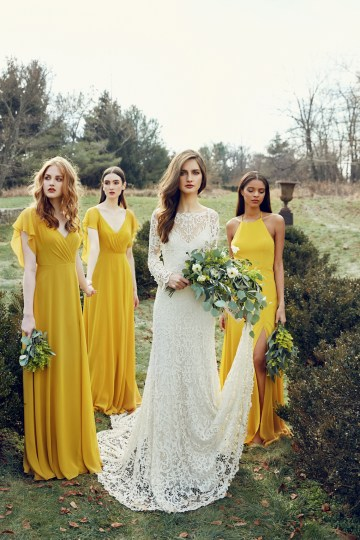 The Dazzling Jenny Yoo Dresses Your Bridesmaids Will Be Begging For | This Modern Romance 7