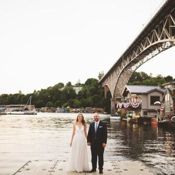 Tropical Urban Rooftop Wedding In Seattle | The Shalom Imaginative 16