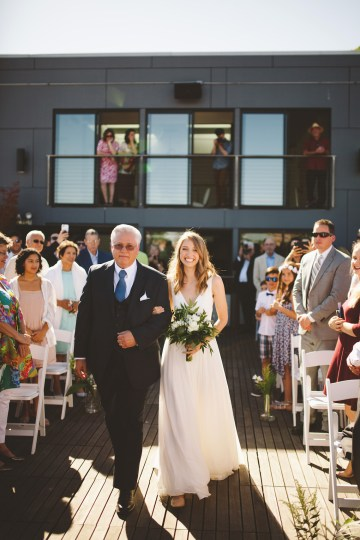 Tropical Urban Rooftop Wedding In Seattle | The Shalom Imaginative 32