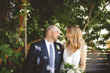 Tropical Urban Rooftop Wedding In Seattle | The Shalom Imaginative 5