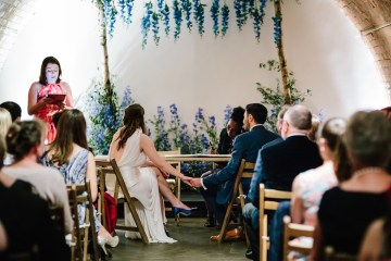 Underground Gallery Wedding In London With Cool, Flashy Signage   Studio 1208 Photography 1