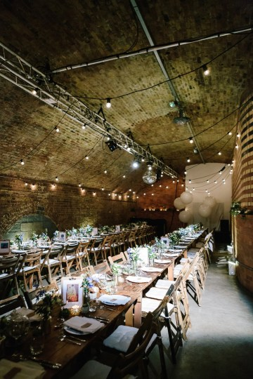 Underground Gallery Wedding In London With Cool, Flashy Signage   Studio 1208 Photography 28