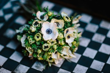 Underground Gallery Wedding In London With Cool, Flashy Signage   Studio 1208 Photography 5