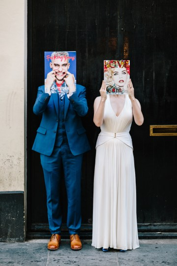 Underground Gallery Wedding In London With Cool, Flashy Signage   Studio 1208 Photography 52