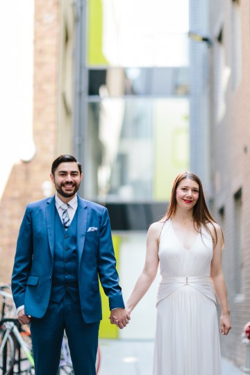 Underground Gallery Wedding In London With Cool, Flashy Signage | Studio 1208 Photography 54