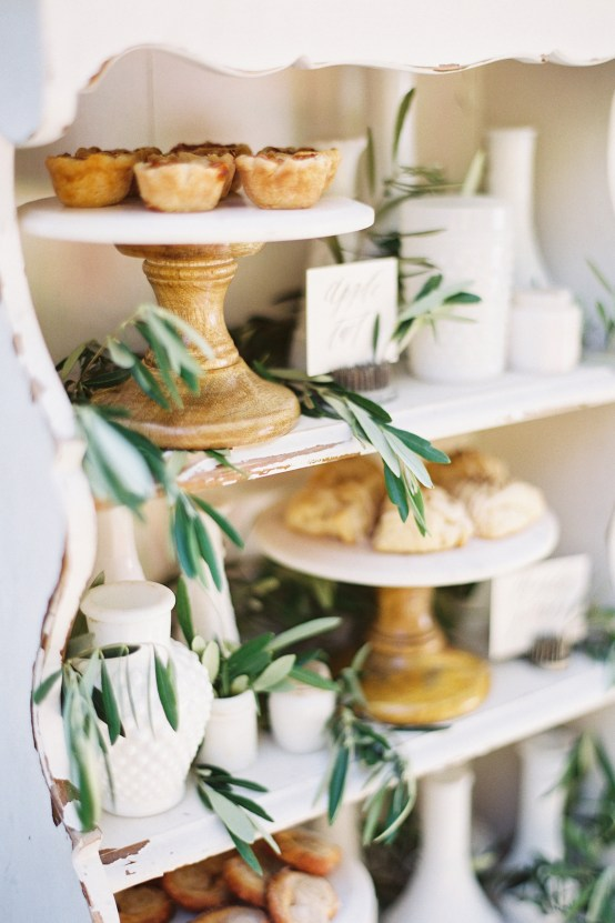 Vintage Lace; Pretty Wedding Ideas Featuring A Crepe Cake & Lamb's Ear Bouquet   Nathalie Cheng 33