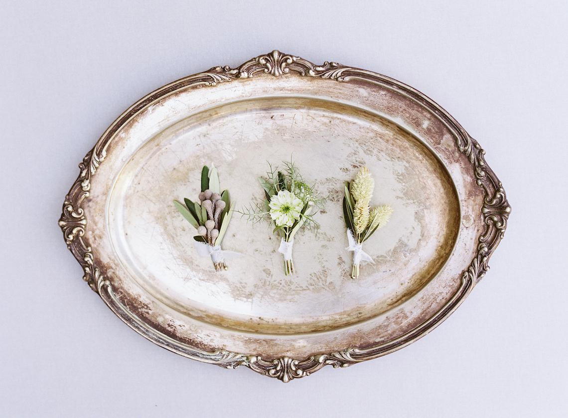 Vintage Lace; Pretty Wedding Ideas Featuring A Crepe Cake & Lamb's Ear Bouquet   Nathalie Cheng 43