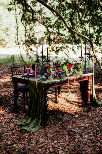 Woodsy Jewel-Toned Wedding Ideas (With A Circle Arch!) | Grind & Press Photography 20