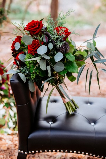 Woodsy Jewel-Toned Wedding Ideas (With A Circle Arch!) | Grind & Press Photography 25