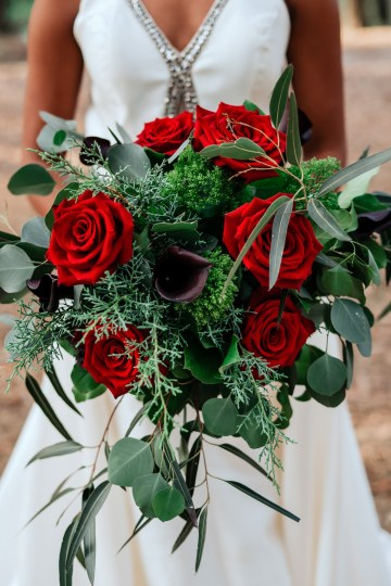 Woodsy Jewel-Toned Wedding Ideas (With A Circle Arch!) | Grind & Press Photography 41