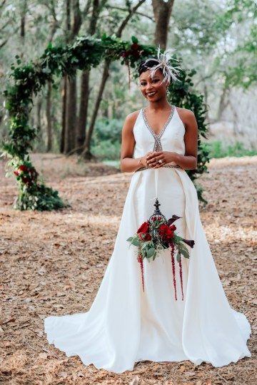Woodsy Jewel-Toned Wedding Ideas (With A Circle Arch!) | Grind & Press Photography 43