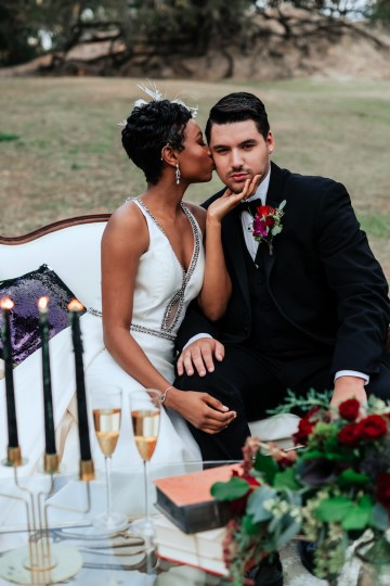 Woodsy Jewel-Toned Wedding Ideas (With A Circle Arch!) | Grind & Press Photography 56