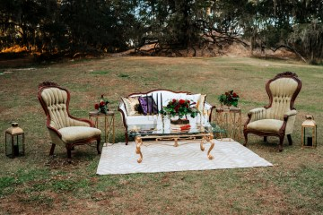 Woodsy Jewel-Toned Wedding Ideas (With A Circle Arch!) | Grind & Press Photography 9