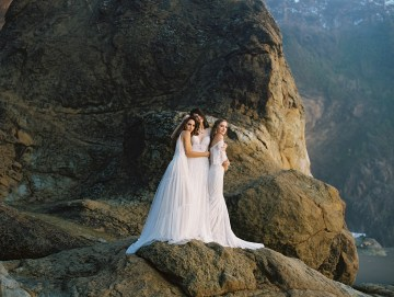Allure Bridal's Dreamy Boho Wilderly Bride Wedding Dress Collection (And Giveaway!)   Brumwell Wells Photography 4
