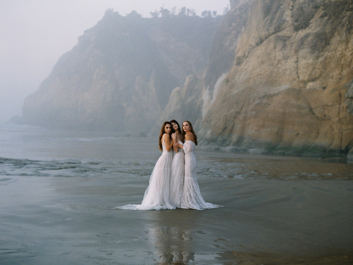 Allure Bridal's Dreamy Boho Wilderly Bride Wedding Dress Collection (And Giveaway!) | Brumwell Wells Photography 6
