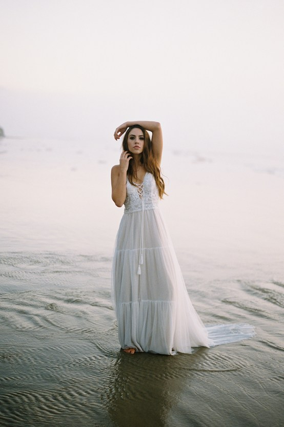 Allure Bridal's Dreamy Boho Wilderly Bride Wedding Dress Collection (And Giveaway!) | Brumwell Wells Photography | Eloise 3